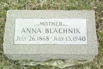 BLACHNIK, ANNA - Bon Homme County, South Dakota | ANNA BLACHNIK - South Dakota Gravestone Photos