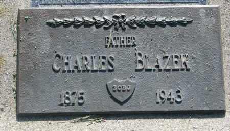 BLAZEK, CHARLES - Bon Homme County, South Dakota | CHARLES BLAZEK - South Dakota Gravestone Photos