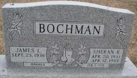 BOCHMAN, SHERAN K. - Bon Homme County, South Dakota | SHERAN K. BOCHMAN - South Dakota Gravestone Photos