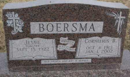 BOERSMA, CORNELIUS B. - Bon Homme County, South Dakota | CORNELIUS B. BOERSMA - South Dakota Gravestone Photos