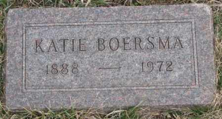 BOERSMA, KATIE - Bon Homme County, South Dakota | KATIE BOERSMA - South Dakota Gravestone Photos