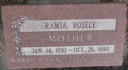 BOERSMA, RAMIA ROSELY - Bon Homme County, South Dakota | RAMIA ROSELY BOERSMA - South Dakota Gravestone Photos