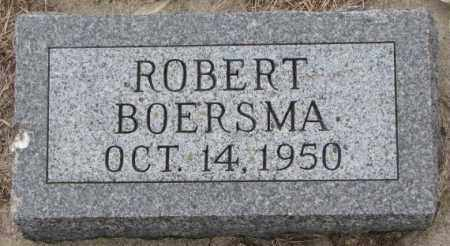 BOERSMA, ROBERT - Bon Homme County, South Dakota | ROBERT BOERSMA - South Dakota Gravestone Photos