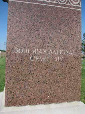 *BOHEMIAN NATIONAL, MONUMENT - Bon Homme County, South Dakota   MONUMENT *BOHEMIAN NATIONAL - South Dakota Gravestone Photos