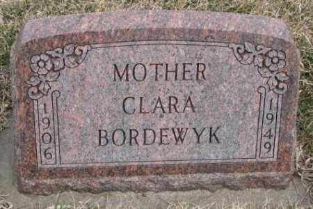 BORDEWYK, CLARA - Bon Homme County, South Dakota   CLARA BORDEWYK - South Dakota Gravestone Photos