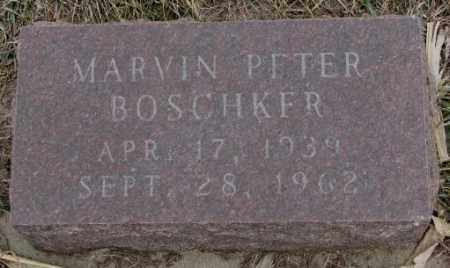 BOSCHKER, MARVIN PETER - Bon Homme County, South Dakota | MARVIN PETER BOSCHKER - South Dakota Gravestone Photos