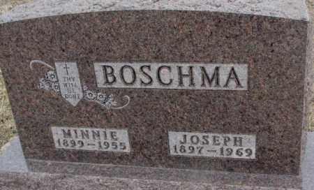 BOSCHMA, MINNIE - Bon Homme County, South Dakota | MINNIE BOSCHMA - South Dakota Gravestone Photos