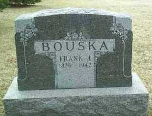 BOUSKA, FRANK - Bon Homme County, South Dakota | FRANK BOUSKA - South Dakota Gravestone Photos