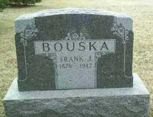 BOUSKA, FRANK - Bon Homme County, South Dakota | FRANK BOUSKA - South Dakota Gravestone Photos