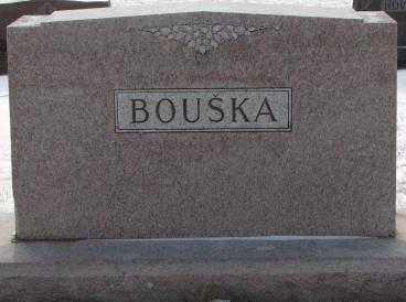 BOUSKA, PLOT - Bon Homme County, South Dakota   PLOT BOUSKA - South Dakota Gravestone Photos