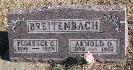 BREITENBACH, ARNOLD O. - Bon Homme County, South Dakota   ARNOLD O. BREITENBACH - South Dakota Gravestone Photos