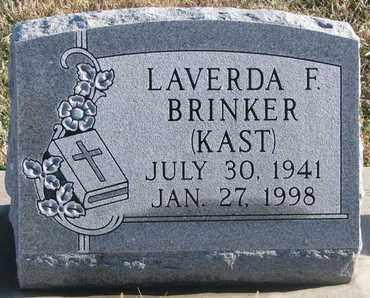 BRINKER, LAVERDA F. - Bon Homme County, South Dakota | LAVERDA F. BRINKER - South Dakota Gravestone Photos