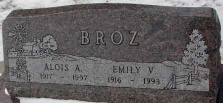 BROZ, ALOIS A. - Bon Homme County, South Dakota | ALOIS A. BROZ - South Dakota Gravestone Photos