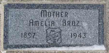 BROZ, AMELIA - Bon Homme County, South Dakota | AMELIA BROZ - South Dakota Gravestone Photos