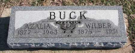 BUCK, WILBER - Bon Homme County, South Dakota | WILBER BUCK - South Dakota Gravestone Photos