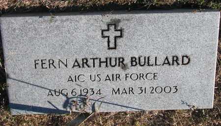 BULLARD, FERN ARTHUR - Bon Homme County, South Dakota   FERN ARTHUR BULLARD - South Dakota Gravestone Photos