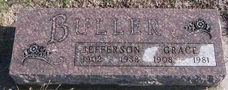BULLER, JEFFERSON - Bon Homme County, South Dakota | JEFFERSON BULLER - South Dakota Gravestone Photos