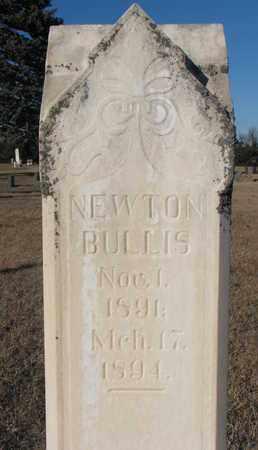BULLIS, NEWTON - Bon Homme County, South Dakota | NEWTON BULLIS - South Dakota Gravestone Photos