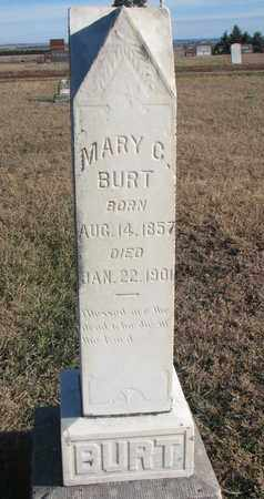 BURT, MARY C. - Bon Homme County, South Dakota   MARY C. BURT - South Dakota Gravestone Photos