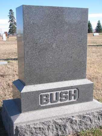 BUSH, FAMILY STONE - Bon Homme County, South Dakota | FAMILY STONE BUSH - South Dakota Gravestone Photos