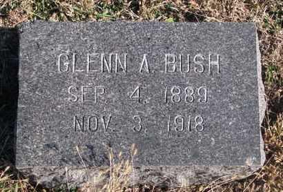 BUSH, GLENN A. - Bon Homme County, South Dakota   GLENN A. BUSH - South Dakota Gravestone Photos