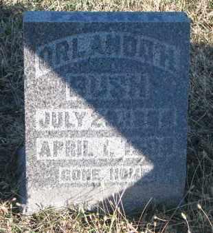 BUSH, ORLANDO H. - Bon Homme County, South Dakota   ORLANDO H. BUSH - South Dakota Gravestone Photos