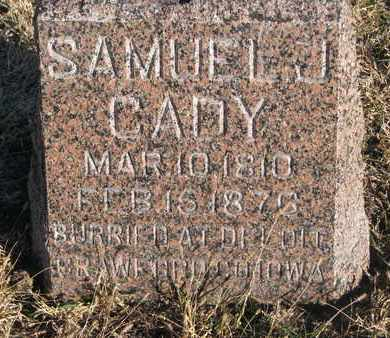 CADY, SAMUEL J. - Bon Homme County, South Dakota | SAMUEL J. CADY - South Dakota Gravestone Photos