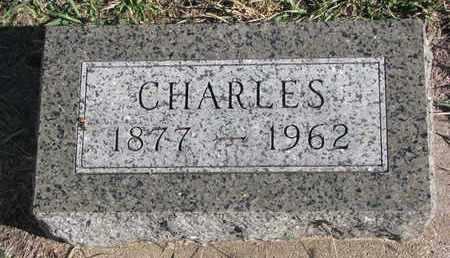 CAMPBELL, CHARLES - Bon Homme County, South Dakota | CHARLES CAMPBELL - South Dakota Gravestone Photos