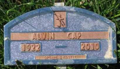 CAP, ALVIN - Bon Homme County, South Dakota | ALVIN CAP - South Dakota Gravestone Photos