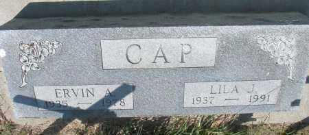 CAP, ERVIN A. - Bon Homme County, South Dakota | ERVIN A. CAP - South Dakota Gravestone Photos