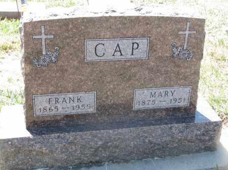 CAP, FRANK - Bon Homme County, South Dakota | FRANK CAP - South Dakota Gravestone Photos