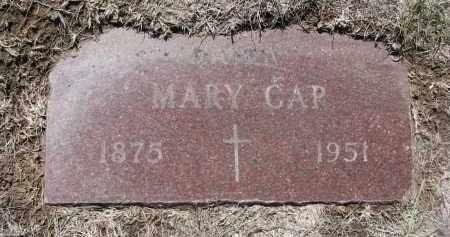 CAP, MARY - Bon Homme County, South Dakota | MARY CAP - South Dakota Gravestone Photos