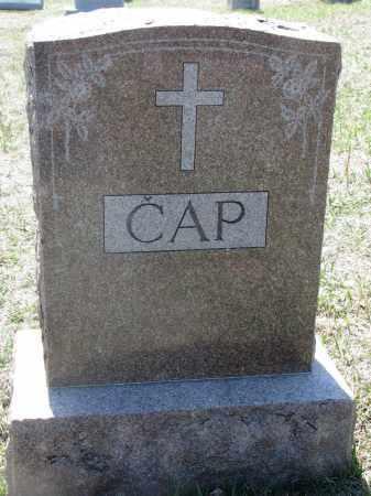 CAP, PLOT STONE - Bon Homme County, South Dakota   PLOT STONE CAP - South Dakota Gravestone Photos