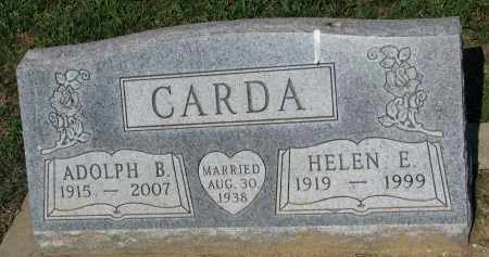 CARDA, ADOLPH B. - Bon Homme County, South Dakota | ADOLPH B. CARDA - South Dakota Gravestone Photos