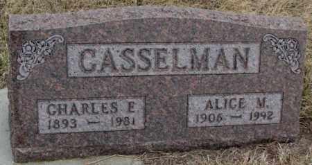CASSELMAN, CHARLES E. - Bon Homme County, South Dakota | CHARLES E. CASSELMAN - South Dakota Gravestone Photos