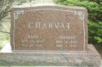 CHARVAT, JOHANNA - Bon Homme County, South Dakota | JOHANNA CHARVAT - South Dakota Gravestone Photos