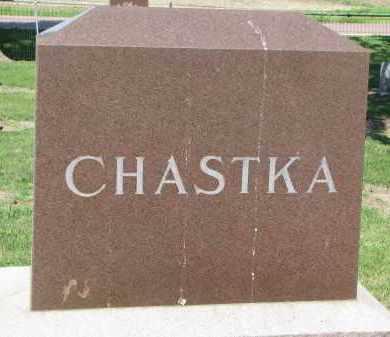 CHASTKA, FAMILY STONE - Bon Homme County, South Dakota   FAMILY STONE CHASTKA - South Dakota Gravestone Photos