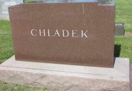 CHLADEK, FAMILY STONE - Bon Homme County, South Dakota   FAMILY STONE CHLADEK - South Dakota Gravestone Photos