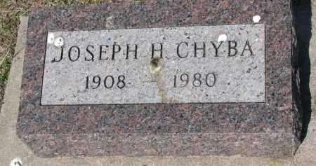 CHYBA, JOSEPH H. - Bon Homme County, South Dakota | JOSEPH H. CHYBA - South Dakota Gravestone Photos