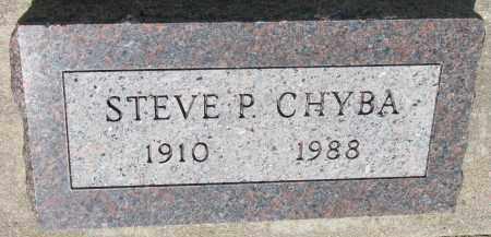 CHYBA, STEVE P. - Bon Homme County, South Dakota | STEVE P. CHYBA - South Dakota Gravestone Photos