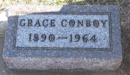CONBOY, GRACE - Bon Homme County, South Dakota | GRACE CONBOY - South Dakota Gravestone Photos