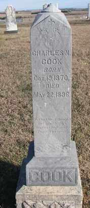COOK, CHARLES N. - Bon Homme County, South Dakota | CHARLES N. COOK - South Dakota Gravestone Photos