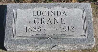 CRANE, LUCINDA - Bon Homme County, South Dakota | LUCINDA CRANE - South Dakota Gravestone Photos