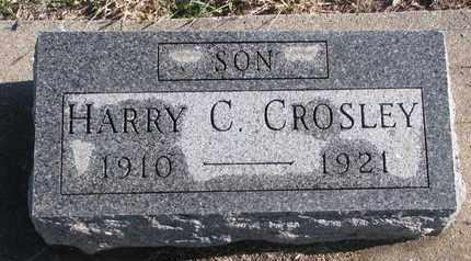 CROSLEY, HARRY C. - Bon Homme County, South Dakota | HARRY C. CROSLEY - South Dakota Gravestone Photos
