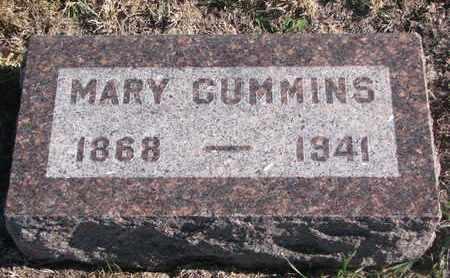 CUMMINS, MARY - Bon Homme County, South Dakota | MARY CUMMINS - South Dakota Gravestone Photos