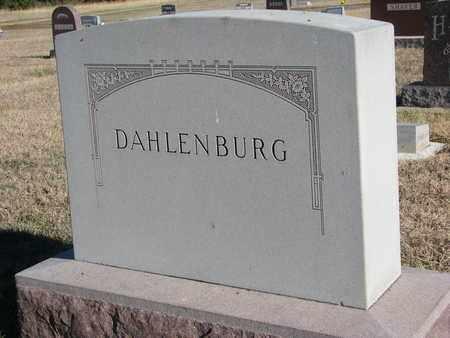 DAHLENBURG, FAMILY STONE - Bon Homme County, South Dakota | FAMILY STONE DAHLENBURG - South Dakota Gravestone Photos