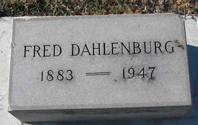 DAHLENBURG, FRED - Bon Homme County, South Dakota | FRED DAHLENBURG - South Dakota Gravestone Photos