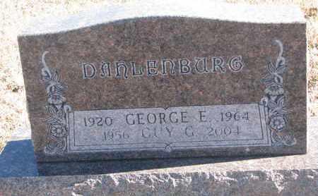 DAHLENBURG, GUY G. - Bon Homme County, South Dakota | GUY G. DAHLENBURG - South Dakota Gravestone Photos