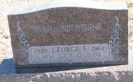 DAHLENBURG, GEORGE E. - Bon Homme County, South Dakota | GEORGE E. DAHLENBURG - South Dakota Gravestone Photos