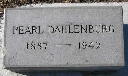 DAHLENBURG, PEARL - Bon Homme County, South Dakota | PEARL DAHLENBURG - South Dakota Gravestone Photos